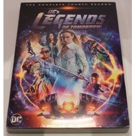 DCS LEGENDS OF TOMORROW THE COMPLETE FOURTH SEASON (SEASON 4) DVD NEW SEALED