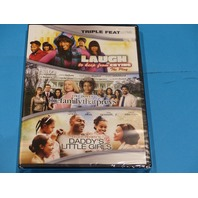 TRIPLE FEATURE LAUGH THE FAMILY THAT PREYS/ DADDYS LITTLE GIRL DVD NEW