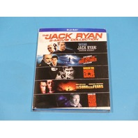 THE JACK RYAN 5-MOVIE COLLECTION BLU-RAY NEW