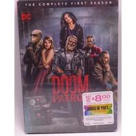 DOOM PATROL THE COMPLETE FIRST SEASON (SEASON 1) DVD NEW SEALED