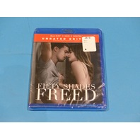 FIFTY SHADES FREED UNRATED BLU-RAY + DVD  W/OUT SLIPCOVER NEW