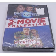 2 MOVIE COLLECTION EXPLORERS & SMALL SOLDIERS - DVD NEW SEALED