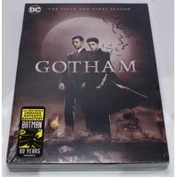 GOTHAM THE COMPLETE FIFTH SEASON (SEASON 5) DVD NEW SEALED