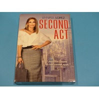 SECOND ACT DVD WITH SLIPCOVER NEW