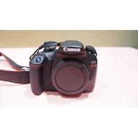 CANON DS126621 REBEL T6 18.0MP DIGITAL SLR CAMERA W/ LENSE & CASE