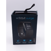 FITBIT SURGE LARGE BLACK FITNESS WRIST WATCH W/OUT ACCESSORIES