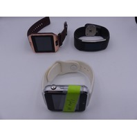 QTY 3* GENERIC SMART BANDS/WATCHES