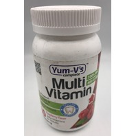 YUM-V'S COMPLETE 800 IU MULTI-VITAMIN RASPBERRY ADULTS 60 JELLY EXP 07/21