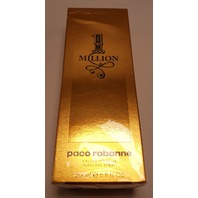 PACO RABANNE 1 MILLION MEN'S EAU DE TOILETTE EDT 6.8OZ 200ML NATURAL SPRAY