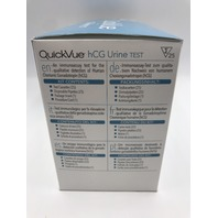 QUIDEL QUICK VUE  HCG URINE TEST 25 TESTS