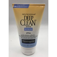 NEUTROGENA DEEP CLEAN GENTLE SCRUB 4.2 FL. OZ. 124 ML.