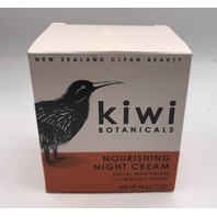 NEW ZEALAND CLEAN BEAUTY NOURISHING NIGHT CREAM KIWI BOTANICALS 1.7 FL. OZ. 48 G