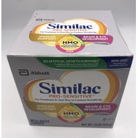 SIMILAC PRO-SENSITIVE MILK-BASED POWDER 7.6 OZ. 215 G. EXP 02/21