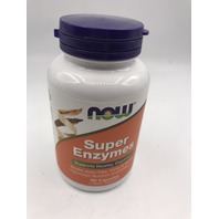 NOW SUPER ENZYMES 90 CAPSULES EXP 05/2022