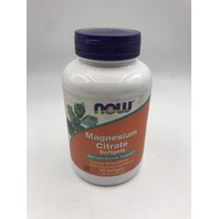 NOW MAGNESIUM CITRATE SOFTELS NERVOUS SYSTEM SUPPORT 90 SOFTGELS EXP 05/2022