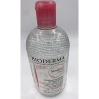 BIODERMA SENSIBIO H2O MAKE-UP REMOVING MICELLE SOLUTION 500 ML. 16.7 FL. OZ.