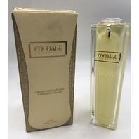 COCOAGE COSMETICS CONCENTRATED 24K GOLD CAFFEINE EYE SERUM 50 ML.. 1.7 FL .OZ.