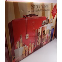 2019 ESTEE LAUDER BLOCKBUSTER HOLIDAY MAKE UP GIFT SET W/CASE NUDES GLAM WARM