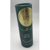 YOUNG LIVING SEED-SOIL DEEP RELIEF ESSENTIAL OIL ROLL ON .34 FL. OZ. 10 ML.