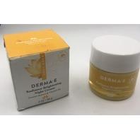 DERMA-E RADIANCE BRIGHTENING NIGHT-CREAM LICORICE EXTRACT AND VIT B3 2OZ. 56 G