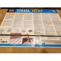 STRATA HEAT 0177-1084-H 5 MATS 8.2SQ FT EA 41 SQ FT
