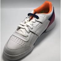 REEBOK CLASSIC WORKOUT PLUS MONTANA WHITE/ORANGE/ULTRAMARINE US MEN 8.5 EU 41