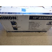 "RIKON 10"" BANDSAW 10-305 1/3 HP 110V 3.5A POWER BANDSAW TABLE"