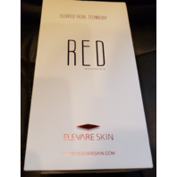 ELEVARE SKIN RED ELEVATED FACIAL TECH SKIN LED RED INFRARED LIGHT THERAPY DEVICE