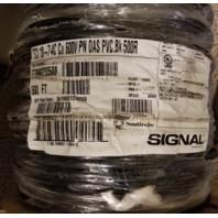 SOUTHWIRE SIGNAL TCI 18-7 4C CU 600V OAS PVC BK 500R 500'  451804SDB T799020508