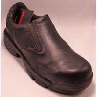 WOLVERINE FALCON SLIP ON BLACK US MEN 11.5EW EU 44.5 SLIP ON BOOT
