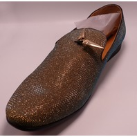 GIORGIO BRUTINI X18001 CONQUEST GOLD US MEN 13D DRESS SHOES