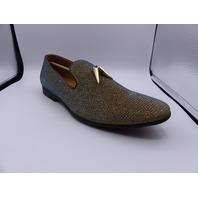 GIORGIO BRUTINI CONQUEST X18001 44AZ05D70 10.5 D GOLD SLIP ON DRESS SHOES