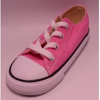 CONVERSE INF C/T A/S OX 7J238 PINK US INFANT 9 EU 25 SNEAKER SHOES