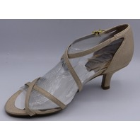 LIFE STRIDE FLAUNT GOLD US WOMEN 7 M HEELED SANDAL