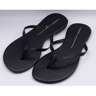 REPORT BLACK US WOMEN 10 THONG SANDALS