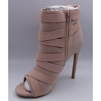 SHOEDAZZLE BILLS PAID MAUVE US WOMEN 6.5 EU 37 BOOTIES