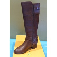 UNISA PAMMA MULTI LL BROWN BUCKLE RIDING BOOTS US WOMEN 7 M