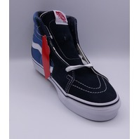 VANS SK8-HI NAVY UNISEX MEN US 6.5 WMN 8 EU 38.5 ANKLE HIGH SHOES