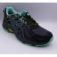 ASICS GEL VENTURE 6 BLACK/CARBON/NEON LIME WMN US 8.5 EU 40 RUNNING