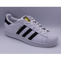 ADIDAS SUPERSTAR WHITE/ BLACK MEN US 8 EU 41.3 SNEAKER