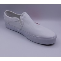 VANS ASHER TRUE WHITE WMN US 10 EU 41 SLIP ON SHOE
