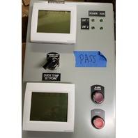 HONEYWELL CUSTOM DUAL HVAC CONTROLLER SYSTEM W/VISIONPRO & LD6A-1DZQW-R
