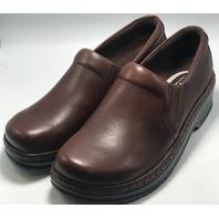 KLOGS FOOTWEAR NAPLES SZ 11 MEDIUM MUSTANG SLIP RESISTANT NURSING CLOG