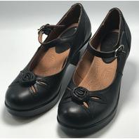 KLOGS FOOTWEAR DOLLY SZ 6 MEDIUM BLACK SLIP RESISTANT NURSING CLOG