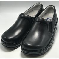 KLOGS FOOTWEAR NAPLES SZ 8.5 MEDIUM BLACK SMOOTH SLIP RESISTANT NURSING CLOG