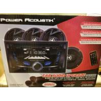 """POWER ACOUSTIK CDB2-652T CAR AUDIO UPGRADE PACKAGE W/4 6.5"""" SPEAKERS +TWEETERS"""