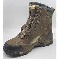 NORTHSIDE RENEGADE MENS SIZE US 11 CAMO THERMOLITE WATERPROOF HUNTING BOOTS