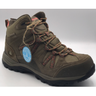 NORTHSIDE FREEMONT WP TRAIL WOMENS HIKING BOOTS TAN/CORAL SIZE 6 EU 37 UK 4