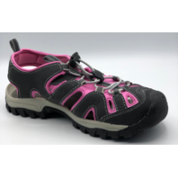 NORTHSIDE BURKE II WOMENS SIZE 6 GRAY-FUCHSIA ACTIVE SANDALS