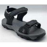 NORTHSIDE AKIRA II  WOMENS SIZE 6 BLACK/ROYAL ACTIVE SANDALS